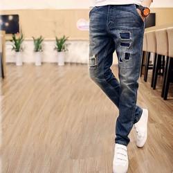 quần jean nam phong cách bụi bặm