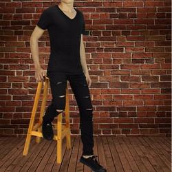 quần jean rách thời trang