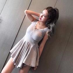 Đầm xòe hot girl