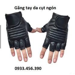 Găng tay da Tactical