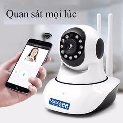 Camera IP Robot Wifi Xoay 360 HD-960P
