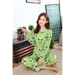 Đồ Mặc Nhà Đẹp Panda Chấm Bi - MS446