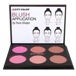 Phấn Má Hồng City Color pro Blushpalette Matte Collection 5s1400
