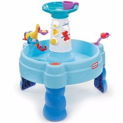 Bàn chơi nước hình bánh xe xoay Little Tikes LT-485114-IN