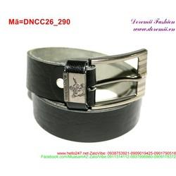 Thắt lưng nam da bò phong cách lịch lãm sang trọng DNCC26