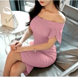 Đầm ôm trễ vai cực xinh