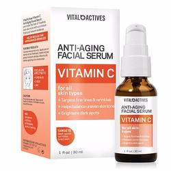 Dưỡng da Vital Actives Anti-Aging Facial Serum Vitamin C, 30ml