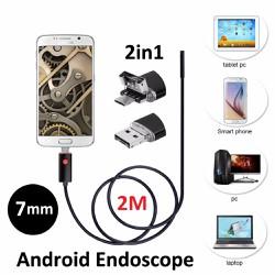 Camera nội soi chống nước 2in1-7mm-dài 2m