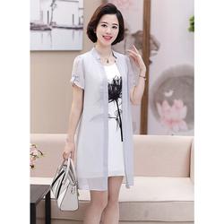 Đầm Suông Trung niên trẻ trung TN02