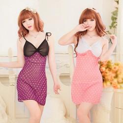 Váy Ngủ Gợi Cảm Nhất Voan Love MS509