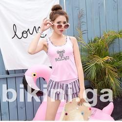 Bộ bikini năng động, trẻ trung BI03 - Màu hồng