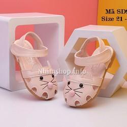 Sandal kitty hồng cho bé gái 1-3 tuổi SD95
