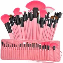 Bộ cọ 23 món đầy đủ cho mặt bạn luôn tươi xinh107_màu vàng,đen,hồng