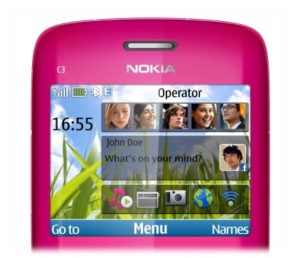 Nokia c3 00 3