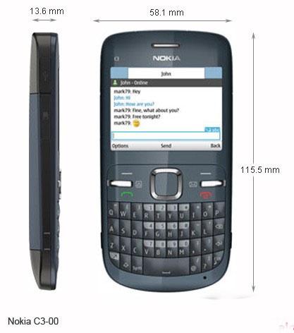 Nokia c3 00 1