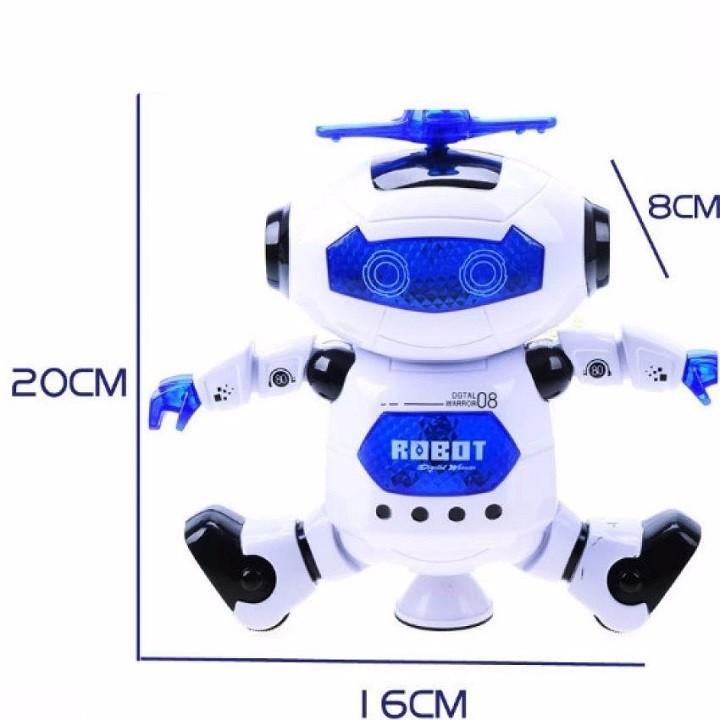 ROBOT NHẢY MÚA THEO NHẠC 5