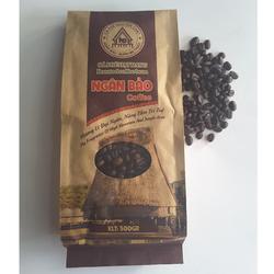 Cà phê hạt rang nguyên chất Ngân Bảo 500gr Đặc biệt -NPP HS shop