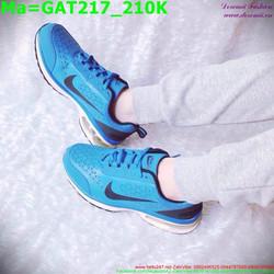 Giày thể thao nam cổ thấp màu xanh dương GAT217