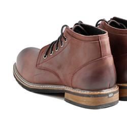 giày Clark Chukka da bò nâu thiết kế mới 2017