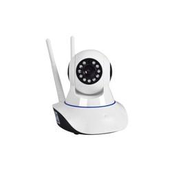 Camera Wifi V380 2 ăng ten quan sát ngày đêm xoay 360 độ cực nét
