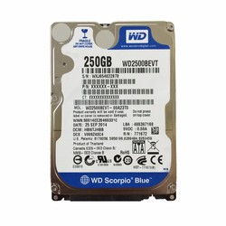 Ổ cứng laptop WD 250GB
