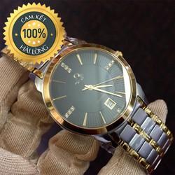 Đồng hồ nam cao cấp OM Diamond chống xước, chống nước tốt