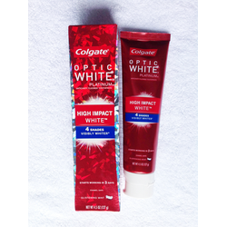 Kem đánh răng Colgate Optic White Platinum High Impact White