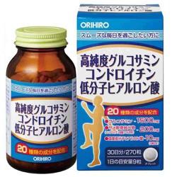 Viên uống bổ xương khớp 3 trong 1 Orihiro Glucosamine