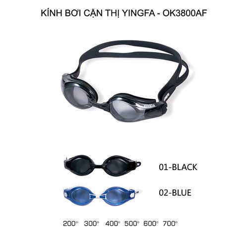 Kính bơi cận thị Yingfa OK3800AF - 4261813 , 5572215 , 15_5572215 , 492000 , Kinh-boi-can-thi-Yingfa-OK3800AF-15_5572215 , sendo.vn , Kính bơi cận thị Yingfa OK3800AF