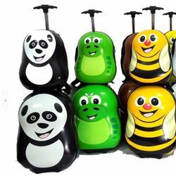 Bộ vali kéo  trẻ em kèm balo siêu cute