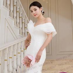 Váy cưới đuôi cá - T160404