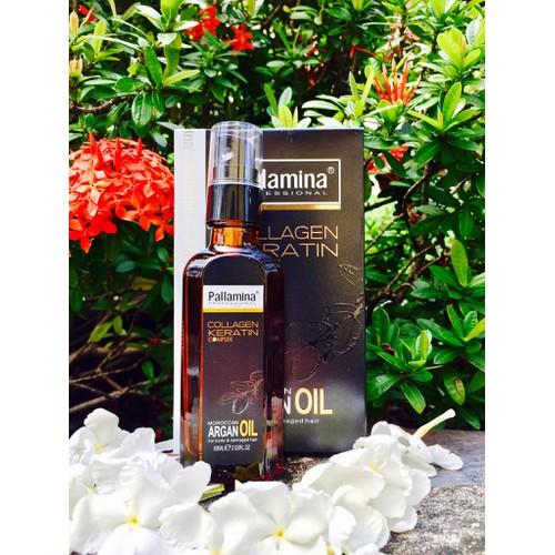 Tinh dầu dưỡng tóc Pallamina Collagen 60ml - 4309356 , 5837799 , 15_5837799 , 250000 , Tinh-dau-duong-toc-Pallamina-Collagen-60ml-15_5837799 , sendo.vn , Tinh dầu dưỡng tóc Pallamina Collagen 60ml