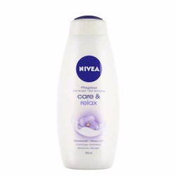 Sữa tắm Nivea Care and Relax 750ml