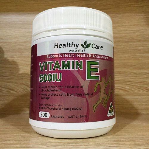Healthy care Vitamin E 500IU- 200 viên - 4309095 , 5836880 , 15_5836880 , 430000 , Healthy-care-Vitamin-E-500IU-200-vien-15_5836880 , sendo.vn , Healthy care Vitamin E 500IU- 200 viên