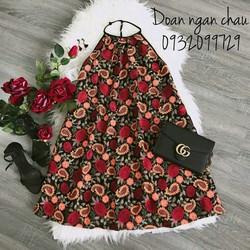 Đầm hoa Yếm Quảng Châu loại 1