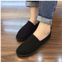 giày mọi trơn 2166