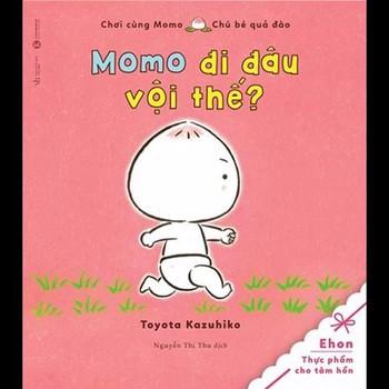 Ehon: Chơi Cùng Momo - Chú Bé Quả Đào: Momo Đi Đâu Vội Thế - 893603779...