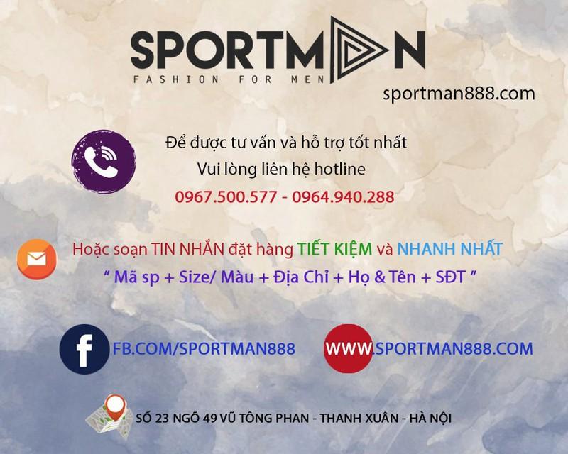 GIÀY VẢI NAM PHỐI MÀU GÓT SPORTMAN  - TC61 1