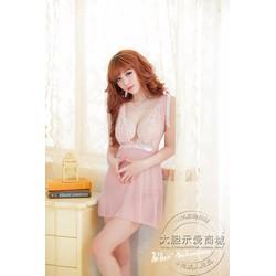 Áo Ngủ Đẹp Ren Hoa Tiên - MS356
