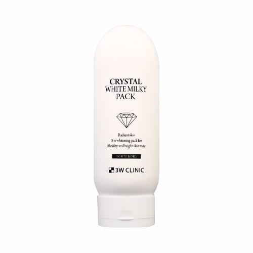 KEM DƯỠNG TRẮNG DA BODY 3W CLINIC CRYSTAL WHITE MILKY PACK 2