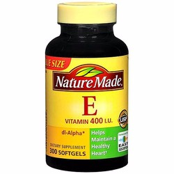 Nature Made Vitamin E 400iu 300 viên từ Mỹ. Vitamin E tự nhiên
