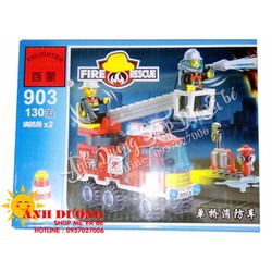 Lego Enghlighten đội xe chữa cháy 903