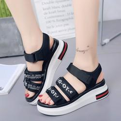 Giày Sandal Nữ thời trang phong cách dễ thương Hàn Quốc - SG0424