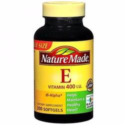 Nature Made Vitamin E 400iu 300 viên từ Mỹ tự nhiên gốc dl Alpha