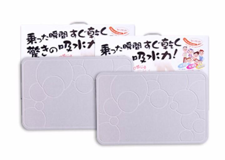 Thảm cứng siêu thấm Nhật Bản 60x39x0.9 cm 2
