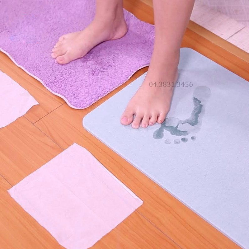 Thảm cứng siêu thấm Nhật Bản 60x39x0.9 cm 6