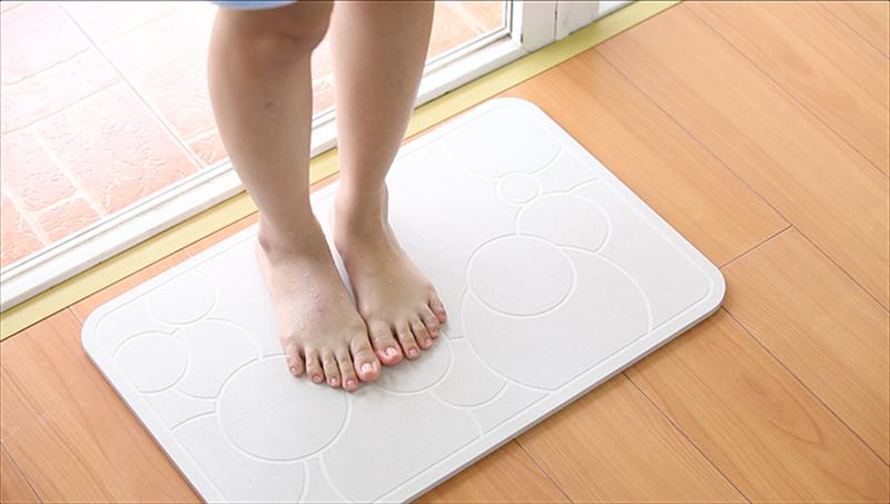 Thảm cứng siêu thấm Nhật Bản 60x39x0.9 cm 8