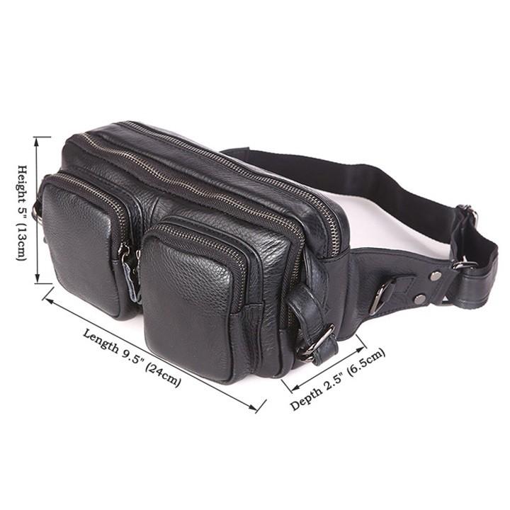 Túi Đeo Bụng Da Bò Nhập Khẩu SMG006 2