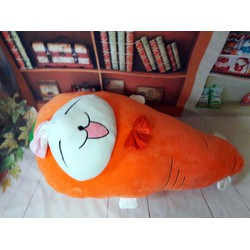 Quà tặng thú nhồi bông gối ôm hình carrot thỏ 90cm
