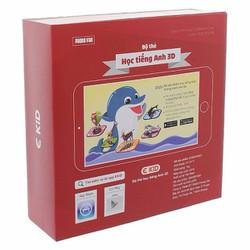 Bộ 96 thẻ xếp hình tương tác 3D AR song ngữ Anh Việt EKID